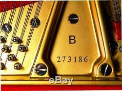 $10,000 reduction/ Museum grade STEINWAY & SONS Model B semi concert grand piano