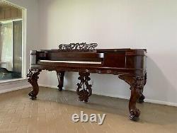 1840's Chickering & Sons Grand Piano Model 51b