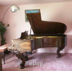 1877 Steinway Rosewood Grand Piano Model B, Serial #35650 Appraised @ $31,260.00