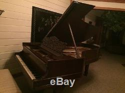 1878 Steinway Grand Piano. Model B, Rosewood Fully Refurnished