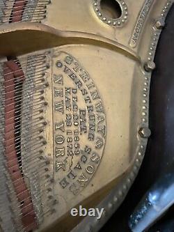 1881 Victorian Steinway Model A Grand Piano Original Finish 85 Key