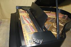 1891-1892 Steinway Model A Grand Piano Ebony Satin Finish