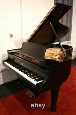 1912 Steinway Model B Grand Piano 6' 11 Satin Ebony Completely Rebuilt
