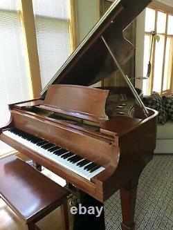 1912 Steinway Model O Baby Grand Piano Semi-gloss Mahogany Finish s/n 154517