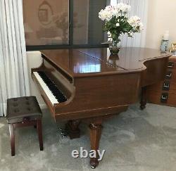 1913 Steinway Model A Golden Era 6'2 Grand Piano, Satin Mahogany