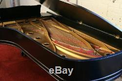 1922 Baldwin Model D Concert Grand 9' Ebony Polyurethane Free Shipping