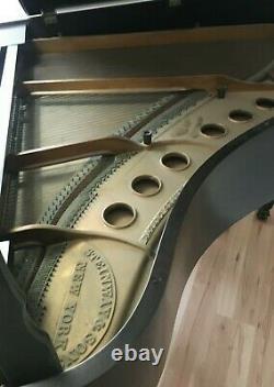 1922 Steinway Model M Grand Piano Mahogany