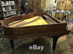 1929 Mason & Hamlin Model A Grand Piano, Restoration Underway