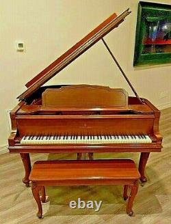 1929 STEINWAY & SONS Model M Grand Piano #264069 5'7 Walnut SECOND OWNER