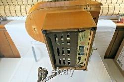 1930 General Television, Model 534 Grand Piano, 5 Tube, Bc Radio