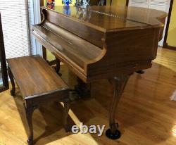 1933 Baldwin Queen Anne Model M Baby Grand Piano