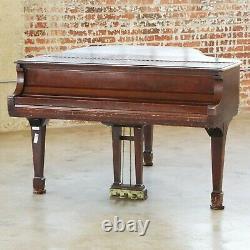 1949 Steinway Model M 5' 7 Grand Piano Original Golden Era Wanlut Finish