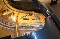 1954 Steinway Model L, satin ebony