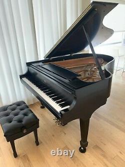 1972 Steinway Grand Piano Model M Ebony