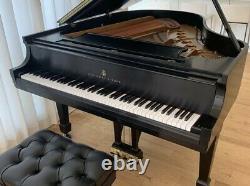 1974 Steinway Grand Piano Model M Ebony