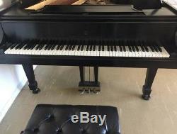 1978 Steinway Model L Grand Piano Ebony