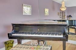 1983 Steinway Model L H129 5'10 Black Ebony Grand Piano S/n L454445 Canada