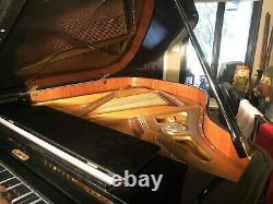 1985 Petrof Grand Piano, Model IV / 3, Ebony Polish, Excellent Condition