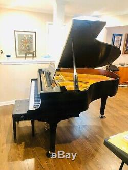 1987 Yamaha Model G2 Grand Piano PRISTINE With Player And Steinway Bench video