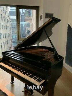2000 Steinway Grand Piano Model S Ebony