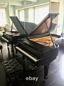 2003 Steinway Grand Piano Model B Ebony