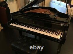 2006 Steinway Grand Piano Model S High Gloss Ebony