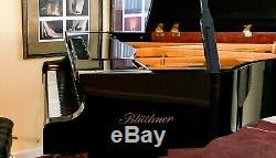 2008 showroom-condition BLUTHNER / BLUETHNER Model 2 semi concert grand piano