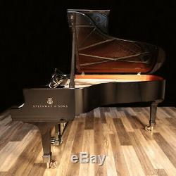 2017 Steinway Grand Piano, Model B 6'10 Spirio Player System