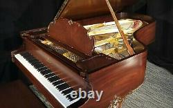 2020-restored STEINWAY & SONS Model B Louis XV Grand Piano