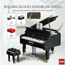 21323 Technic Motor LEGO Grand Piano Model APP Control Automatic Playing Block