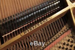 A 1911, Steinway Model O grand piano with a rosewood case. 12 month warranty