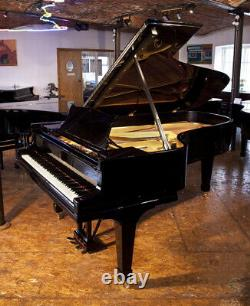 A 1925, Steinway Model C grand piano with a black case. 3 year warranty