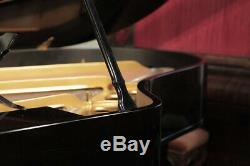A 1926, Steinway Model O grand piano with a black case. 12 month warranty
