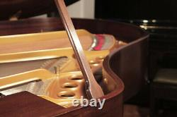 A 1930, Steinway Model M grand piano with a mahogany case. 3 year warranty