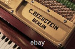 A 1930's Bechstein Model K grand piano in mahogany. 3 year warranty