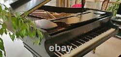 Approx. 1971 Black Mason & Hamlin Model A Grand Piano. Serial No. 74936