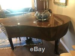 BABY GRAND PIANO (YOUNG CHANG MODEL G-150) Walnut Finish