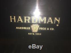 Baby grand piano black Hardman Peck