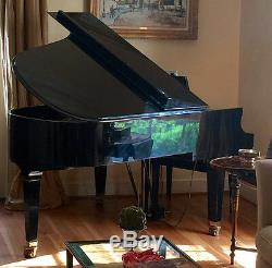 Baldwin 6'3 grand piano model L rich sound that fits your space