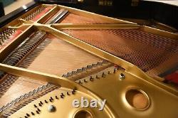 Baldwin Baby Grand Piano + Bench Model M Ebony 1987 Mint Condition