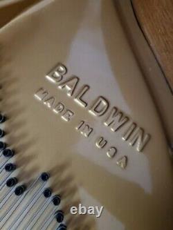 Baldwin Baby Grand Piano Model M 5'2 1976 Pristine Mahogany (VIDEO) WARRANTY