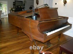 Baldwin Full Size 6'3 Model L Grand Piano Top Needs Refinished $$$ Accordingly