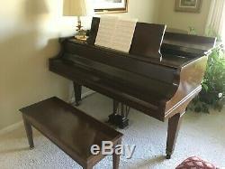 Baldwin Grand Prix L model grand piano 6'3 in rich polished walnut
