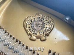 Baldwin Model M Baby Grand Piano Ebony Black (1950)