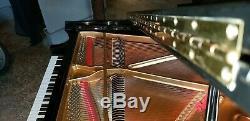 Baldwin grand piano baldwin black piano made in USA model R black piano
