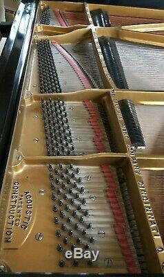 Baldwin model F 7' Semi-Concert Grand Piano with artist bench
