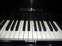 Beautiful Black Baldwin Grand Piano Model R with Player