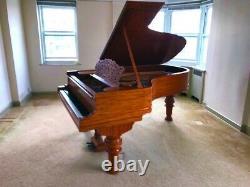 Beautiful Restored Steinway Grand Piano Model B Carved, Mahogany