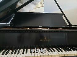 Beautiful Steinway Baby Grand Piano Ebony Model O Serial # 99415. See pics