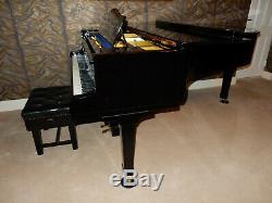 Bluthner Model 4 Grand Piano Made Around 1988. Gloss Black. 5 Year Guarantee